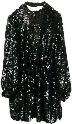MSGM Sequins Short Dress