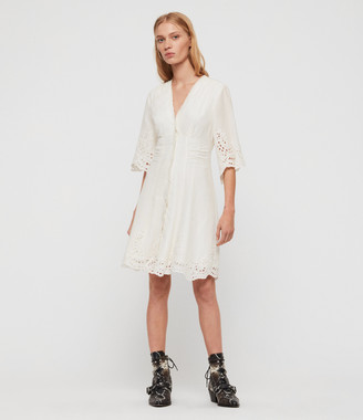AllSaints Una Broderie Dress