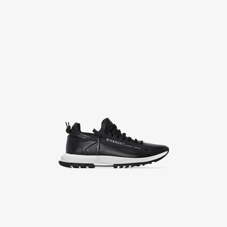 Givenchy Black Spectre Runner leather sneakers