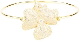 Latelita Flower Large Statement Cuff Bracelet Gold