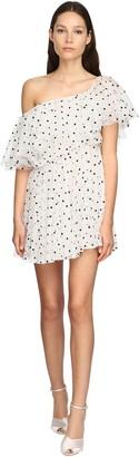 Giambattista Valli Embroidered Tulle Mini Dress
