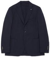 Lardini 'Specialine' wool hopsack blazer