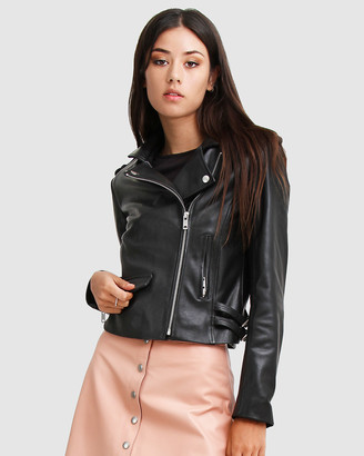 Belle & Bloom Just Friends Leather Jacket