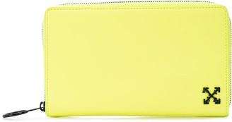 Off-White zip around wallet