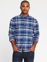 Old Navy Regular-Fit Built-In-Flex Classic Shirt for Men