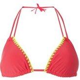 Dorothy Perkins Womens *Coral Bikini Stitch Top- Coral