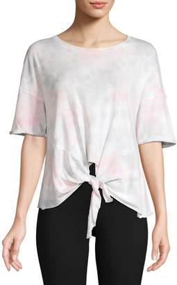 Calvin Klein Cotton-Blend Tye-Dye T-Shirt