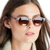 Sole Society Meridan Marble Sunglasses w/ Metal Detail