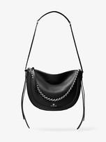 Michael Kors Jagger Large Pebbled Leather Messenger Bag