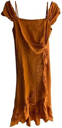 Maje Spring Summer 2019 Orange Viscose Dresses