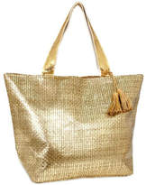 Metallic Beach Bag - ShopStyle