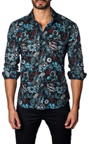 Jared Lang Botanical Cotton Sportshirt
