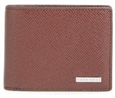 BOSS 'Signature' Bifold Calfskin Leather Wallet