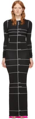 Vetements Black Maxi Dress