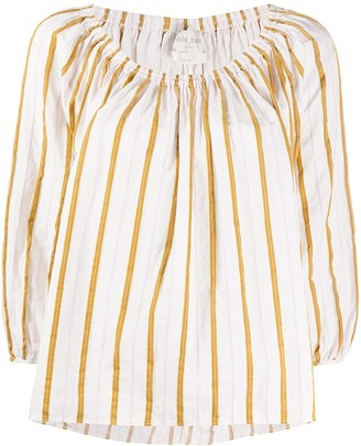 Forte Forte Striped Flared Blouse