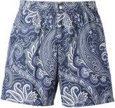 Brioni swimming shorts - men - Cotton/Polyamide - XL
