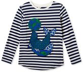 Stella McCartney blue barley striped t-shirt