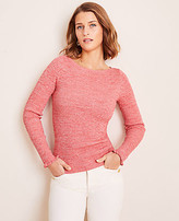 Ann Taylor Marled Perfect Pullover