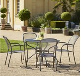 Royal Garden Carlo 4 Seat Table and Chair Set