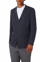 Topman Men's Deconstructed Linen Blend Blazer