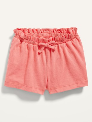 Old Navy Solid Jersey-Knit Pull-On Shorts for Baby