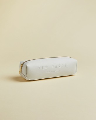 Ted Baker Debossed Leather Pencil Case