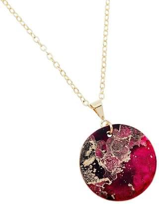 Design Studio Odell Fine Pendant Necklace - Blush