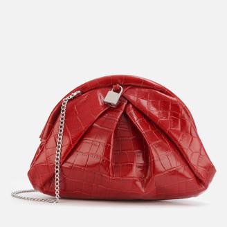 Nunoo Women's Saki Croco Bag - Red