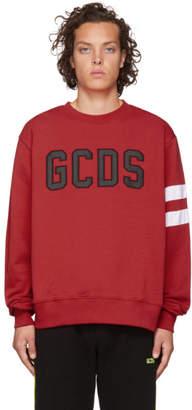 GCDS Red Logo Sweatshirt