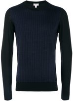 Brioni grid pattern jumper