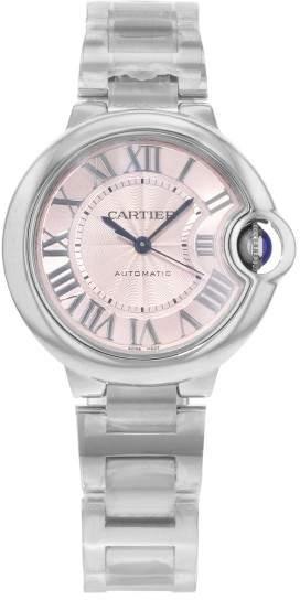 Cartier Ballon Bleu W6920100 Stainless Steel Automatic 33mm Womens Watch