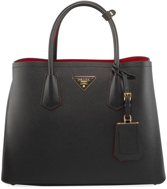 Prada Saffiano Leather Medium Tote Bag