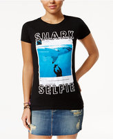 Bioworld Juniors' Shark Week Selfie Graphic T-Shirt