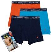 Polo Ralph Lauren Classic Cotton Boxer Brief 3-Pack, XL