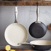 "Green Pan Healthy Ceramic Nonstick Skillet Set, 8"" and 10"""
