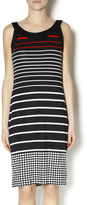 Tribal Stripe Tank Dress