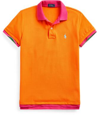 Ralph Lauren Double-Knit Cotton Polo Shirt