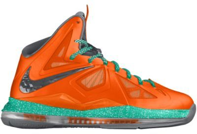 Nike LeBron X+ Sport Pack iD Custom Men's Basketball Shoes