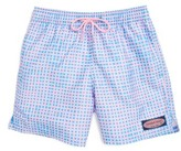 Vineyard Vines Boy's Bungalow Gingham Board Shorts