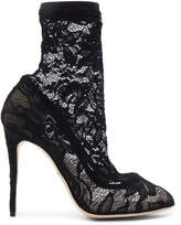 Dolce & Gabbana Stretch Lace Booties