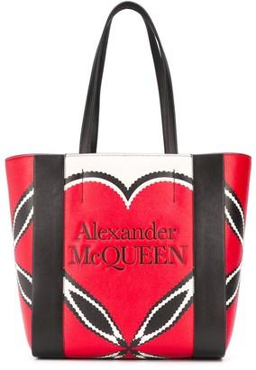 Alexander McQueen Logo Tote Bag