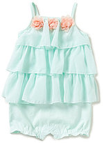 Starting Out Baby Girls 12-24 Months Chiffon Tiered Shortall