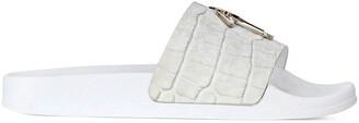 Giuseppe Zanotti Brett leather slides