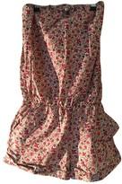Roseanna Pink Cotton Jumpsuit for Women