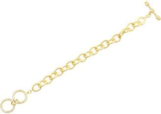 Freida Rothman Toggle Chain Bracelet