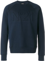 N°21 Cotton Crew-neck Sweatshirt