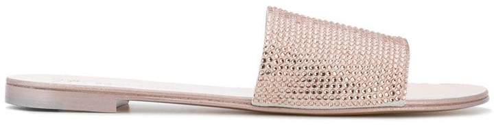 Giuseppe Zanotti Design Adelia embellished slides