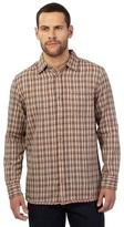 Mantaray Big And Tall Multi-coloured Checked Print Shirt