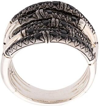 John Hardy Bamboo sapphire ring