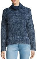 AG Jeans Indigo Capsule Collection By Quad Cotton & Wool Turtleneck Sweater